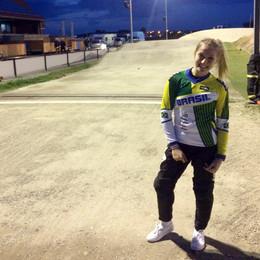 Top 8 do mundo, Priscilla Stevaux disputa duas etapas do Circuito Europeu de BMX na Holanda