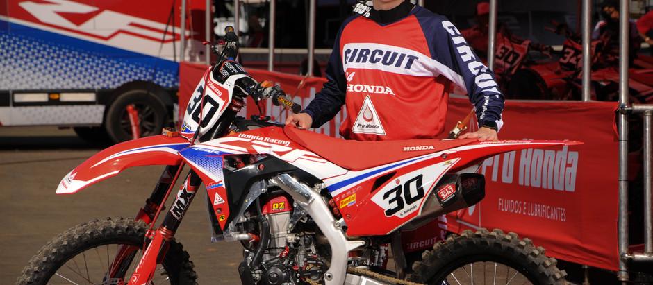 Honda Racing defende títulos do Arena Cross