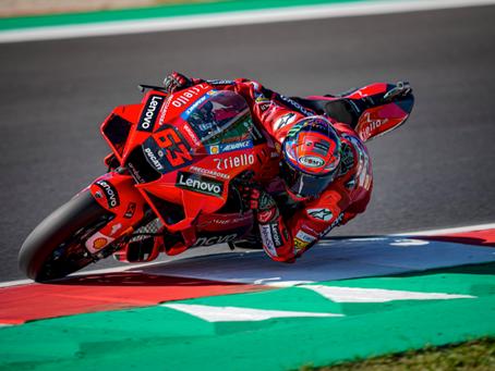 MotoGP - GP das Américas - Nova pole de Bagnaia