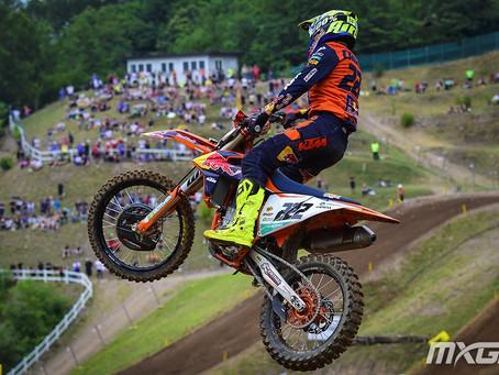 Mundial de Motocross - Cairoli vence 2a. bateria e Prado o GP da República Tcheca