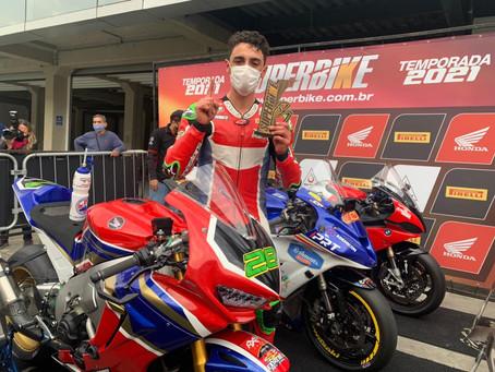 Superbike Brasil - Pedro Sampaio vence novamente