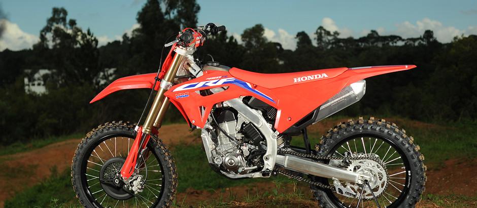 Honda CRF 450R 2021 - Teste