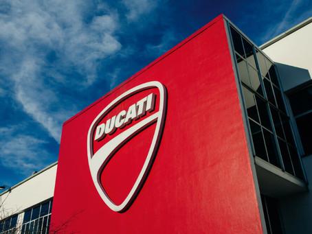 Ducati retoma atividades na Itália