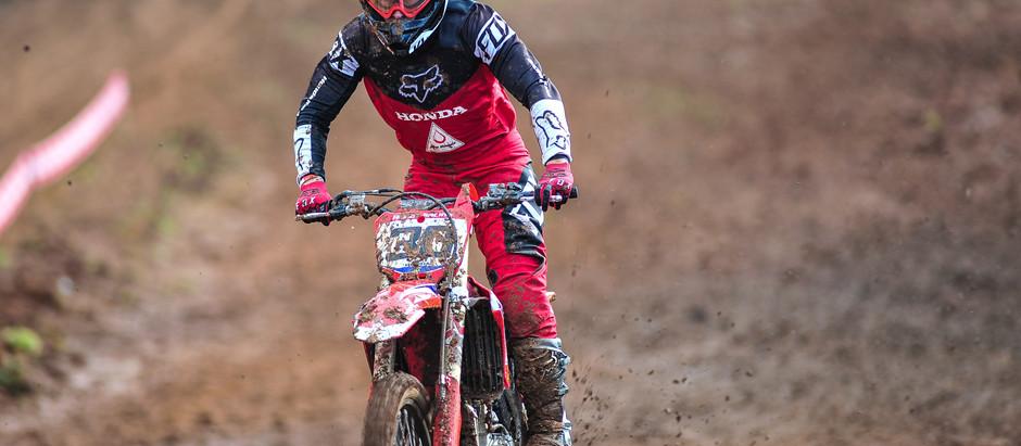 Héctor Assunção é o mais rápido neste sábado no Brasileiro de Motocross