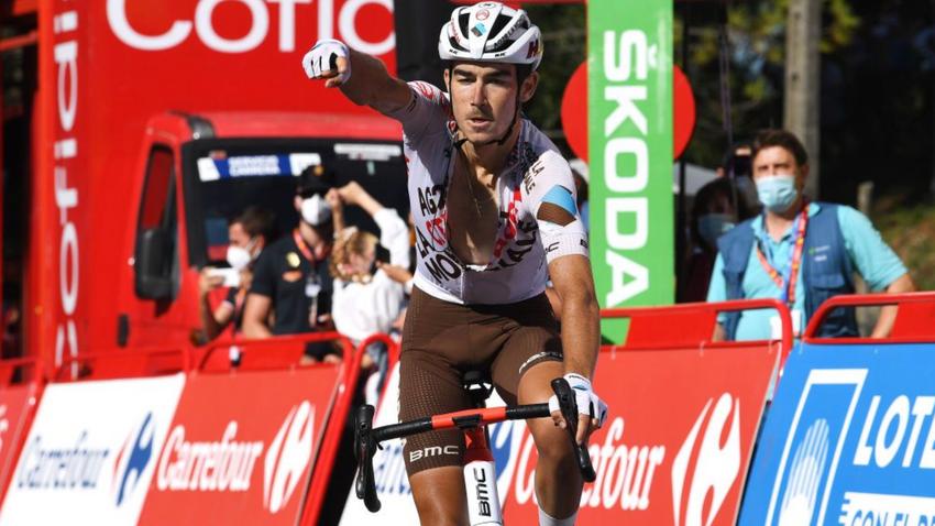 Vuelta a España: Clément Champoussin vence 20ª etapa