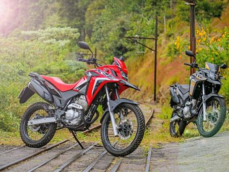 Honda XRE 300 2022 - Novas cores e grafismos