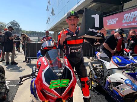 Superbike Brasil - Pedro Sampaio vence 4a. etapa