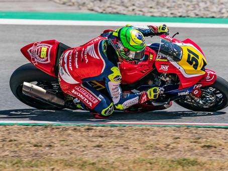 Eric Granado no Espanhol de Superbike em Navarra