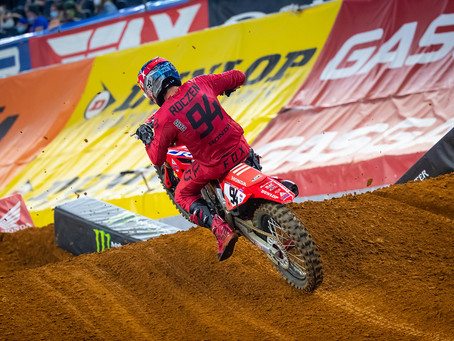 AMA Supercross - Atlanta II - Roczen é o mais rápido