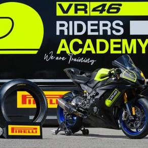 A Academia VR46 faz parceria com a Pirelli