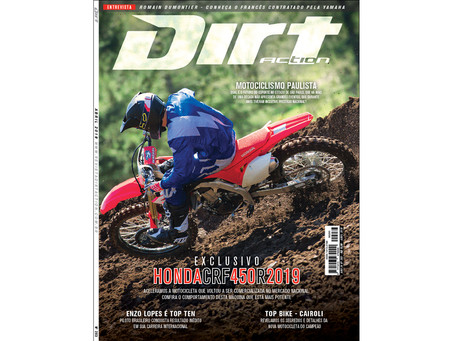 NOVA DIRT ACTION - ESPECIAL HONDA CRF 450R