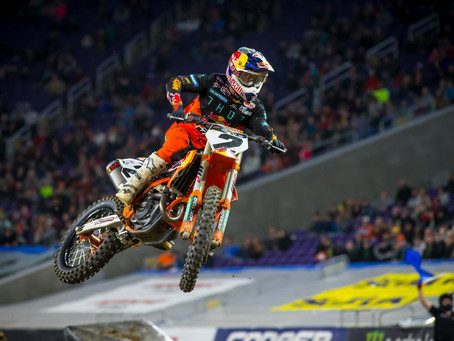 AMA SX - Minneapolis - Cooper e Forkner vencem