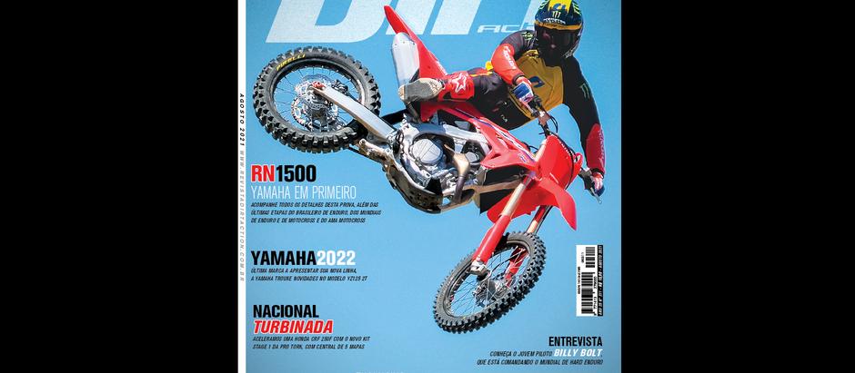 Nova Dirt Action - Agosto - Exclusivo teste Honda CRF 450R 2022