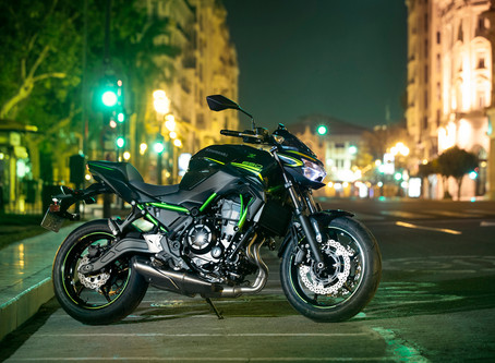 Kawasaki lança novas Z650 e Ninja 650