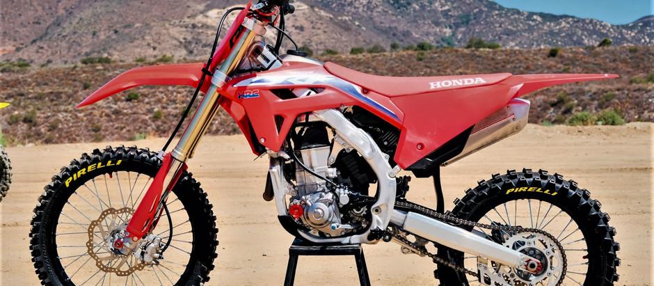 Honda CRF 450R 2022 - Teste Exclusivo