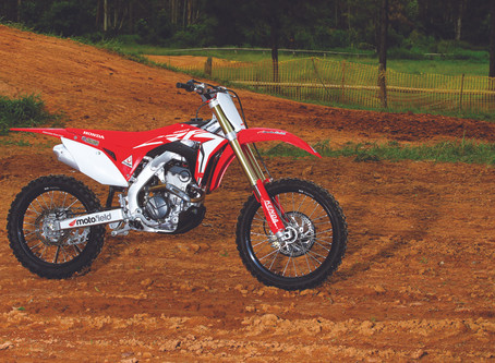 Honda CRF 250R 2020 - Teste