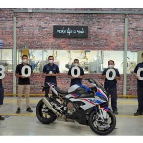 BMW Motorrad celebra 80 mil motos produzidas no Brasil