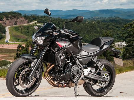 Kawasaki Z650 2021 - Teste
