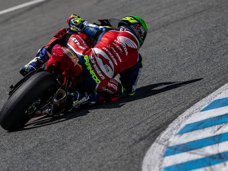 Eric Granado disputa 3a.etapa do Espanhol de Superbike
