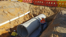 Cleland Gully Road, Tooperang Stormwater Upgrade