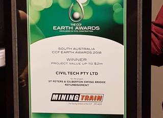 CCF Earth Awards Category One Winner 2018