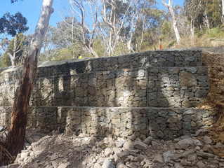 Construction of Gabion, Verge and Stormwater Works