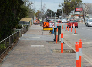 Streetscape Upgrade - Prospect Road - Way Street to Grand Junction Road, Kilburn