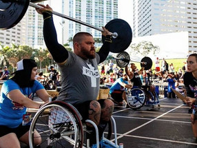 MAH Interview with Adaptive Athlete and Co-Creator of the Crossfit Wheelchair, Michael Mills