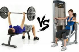 free weights versus machines