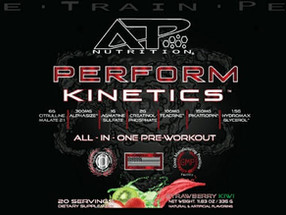 Introducing ATP Nutrition and New Pre-Workout 'Perform Kinetics'