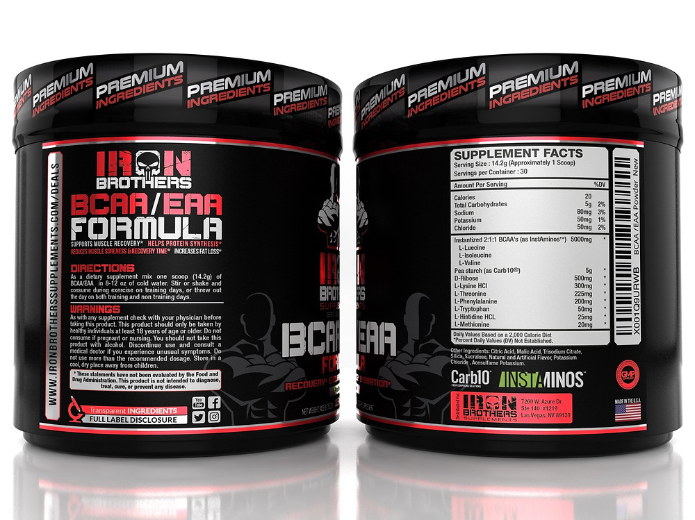Iron Brothers BCAA/EAA Review