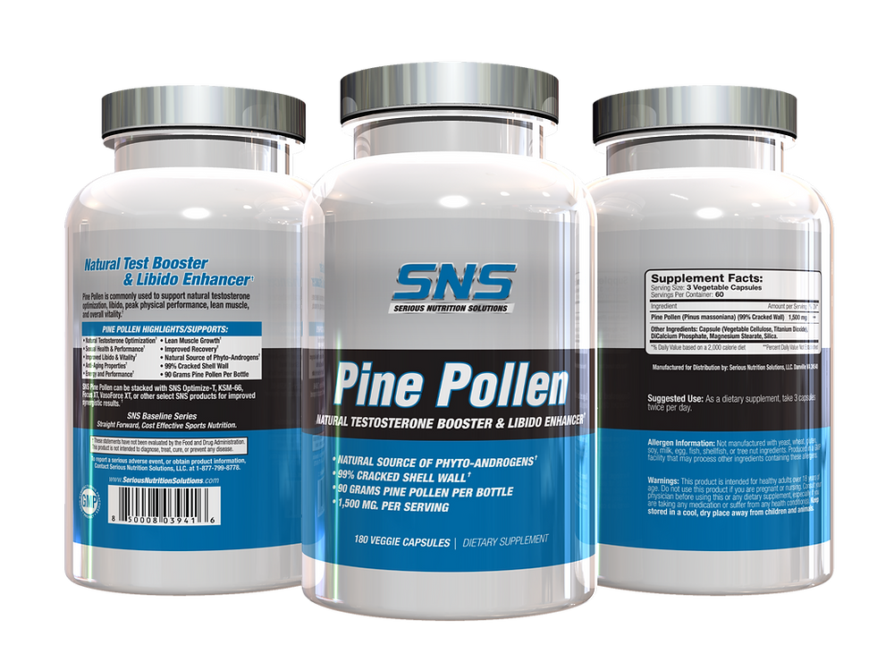 SNS Pine Pollen Review
