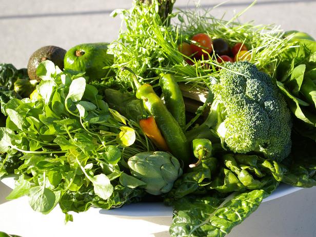 leafy greens fiber