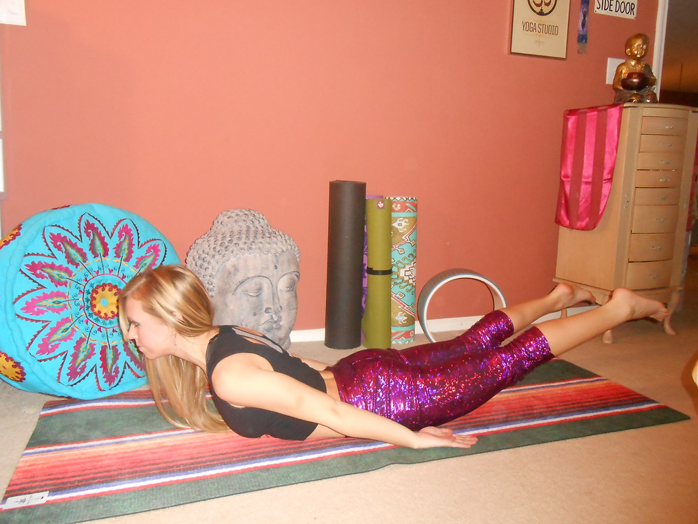 yoga locust