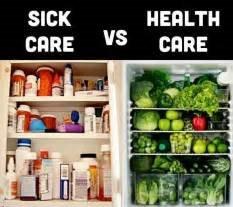 sick care v health care