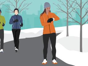 Running in the Winter; Advice from a Boston Marathon Winner
