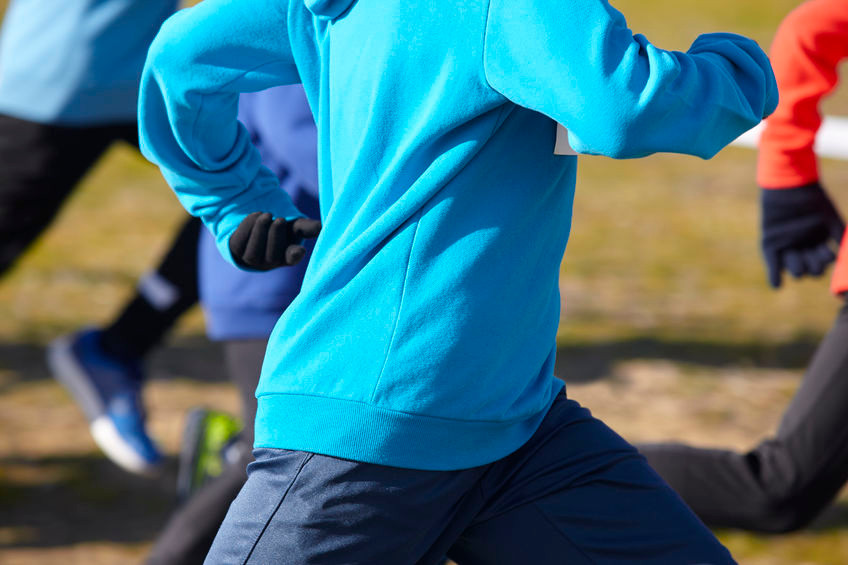 winter fitness running