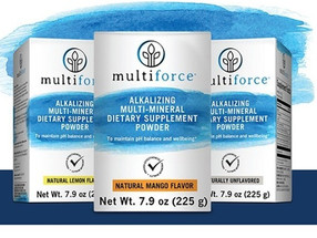 Multiforce Alkalizing Multi Mineral Review