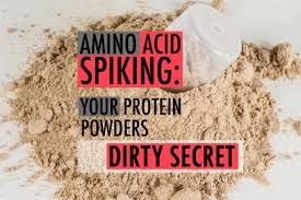 amino protein spiking