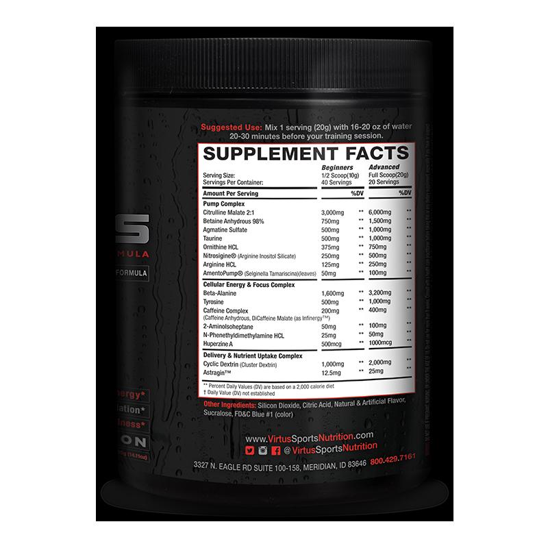 kronos review virtus sports nutrition