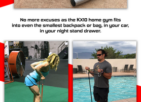 KX10 Home Gym Now Available on KickStarter