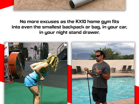 KX10 Home Gym Now Available on KickStarter