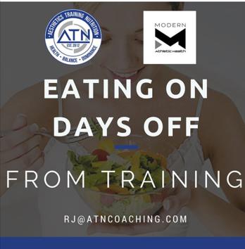 nutrition non training days