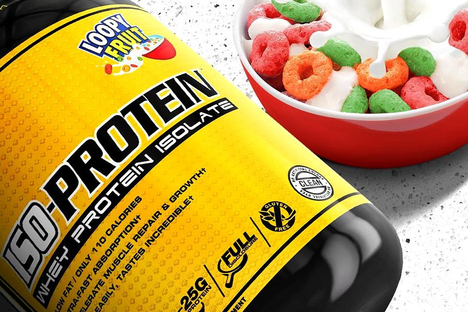man sports iso protein loopy fruit review