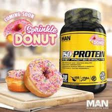 man sports iso protein sprinkle donut review