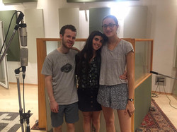 recording session with maya and akiva