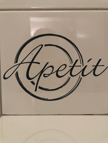 Apetit Restoran sign in Split Croatia