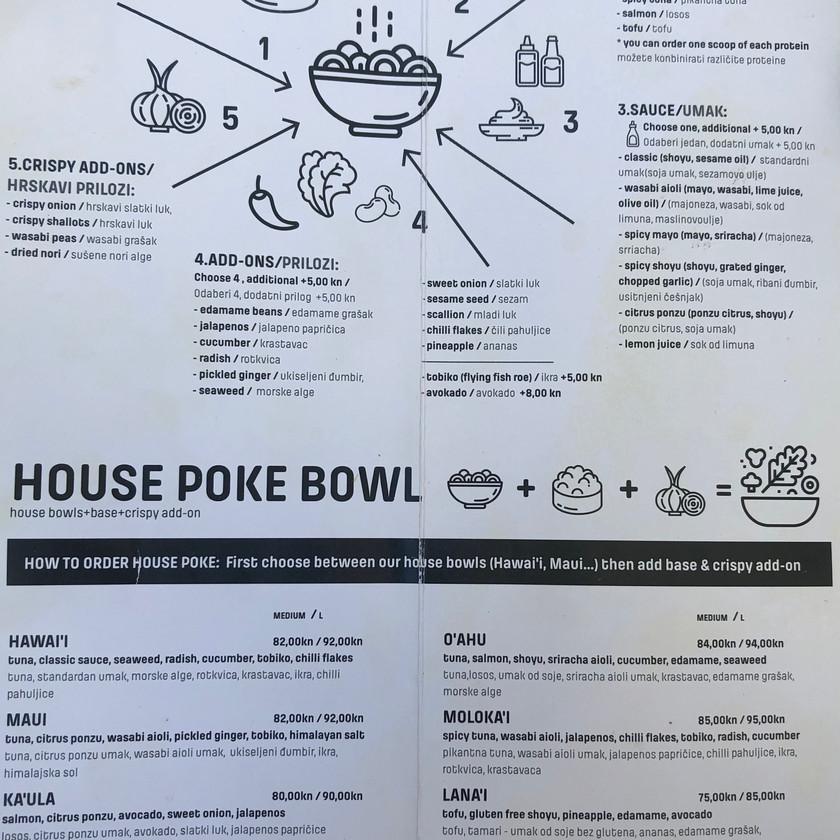 poke menu Maka Maka in Split