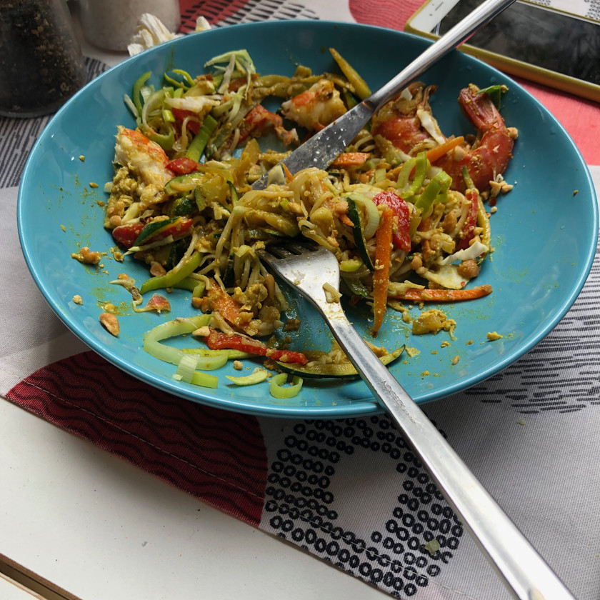 (very spicy) Pad Thai