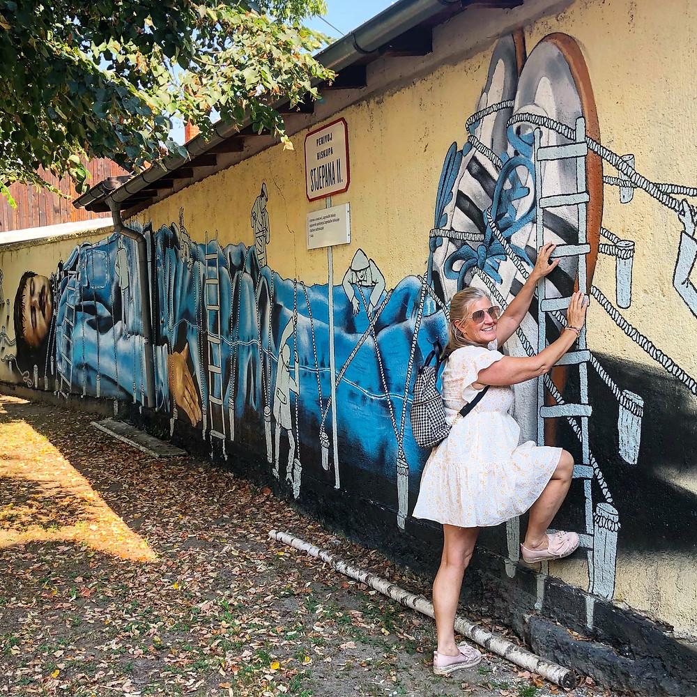 Gulliver Street Art Zagreb Croatia